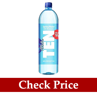 ten alkaline spring water
